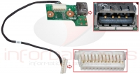 Asus N61 Power Switch Board